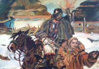 Chevaux - Ulan i dziewczyna (Wojciech Kossak) 1996