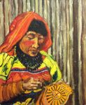 Portrait - La Couseuse de Nazca 1996