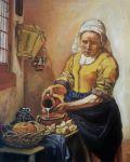 Portrait - La Laitiere (Vermeer) 1996