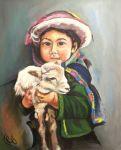 Portrait - Luzmila, enfant de Bolivie 2003