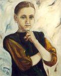 Portrait - Souvenir d Ecoliere 1983